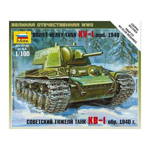CARRO DE COMBATE KV-1 Mod. 1.940 1/100