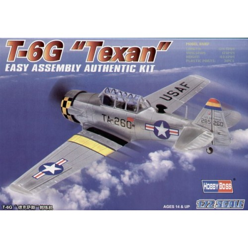 NORTH AMERICAN T-6 G TEXAN (C/ESP) -1/72- Hobby Boss 80233bis