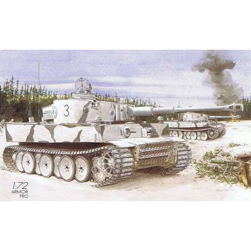 CARRO DE COMBATE SD.KFZ. 181 TIGER I (Initial)