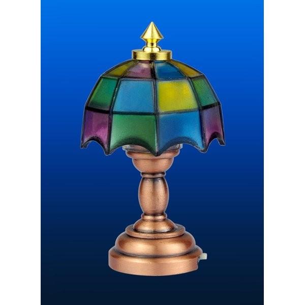 LAMPARA TIFANNY SOBREMESA (SIN LUZ)
