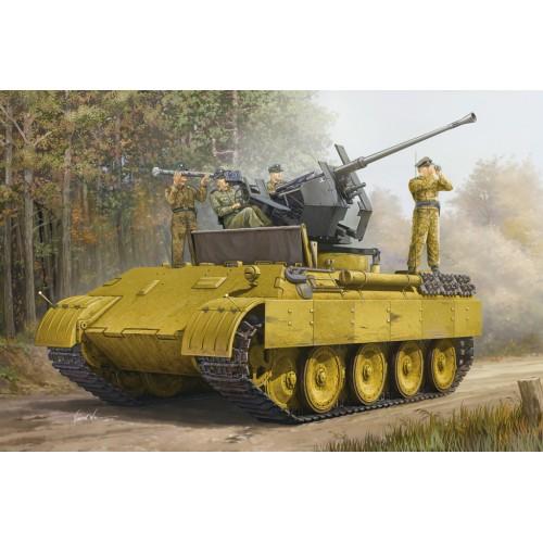 CARRO DE RECUPERACION SD.KFZ. 171 PANTHER Ausf. D Y FLAK -Escala 1/35- Hobby Boss 82492