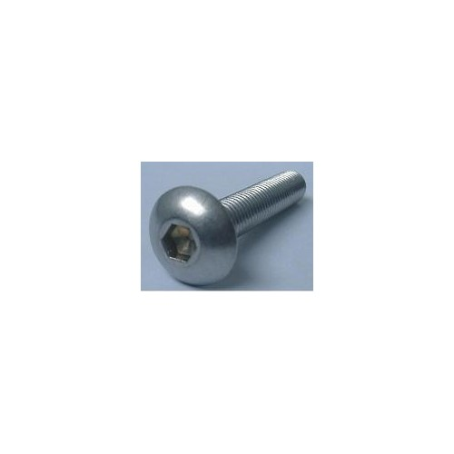 TORNILLO CABEZA SEMIESFERICA ALLEN (3 x 10 mm) 10 unidades