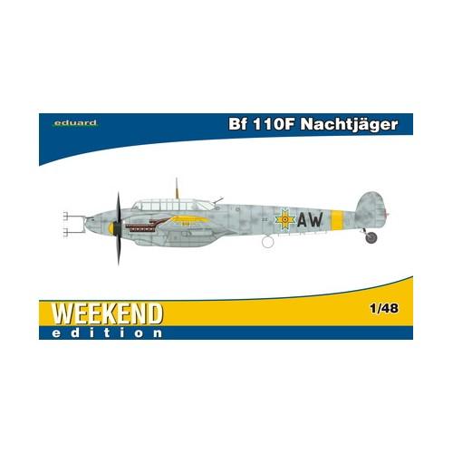 MESSERSCHMITT Bf-110 F NACHTJÄGER -1/48- Eduard 84145