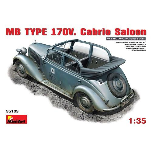 MERCEDES BENZ Typ. 170 V CABRIO 1/35