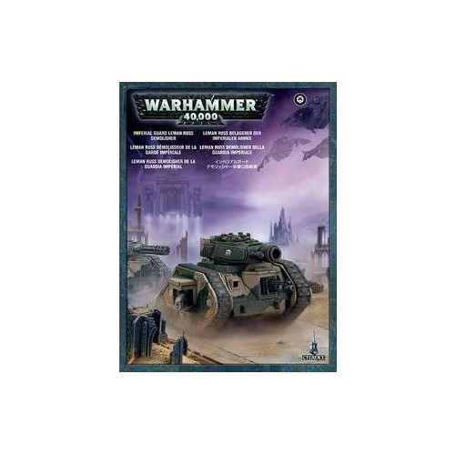 ASTRA MILITARUM LEMAN RUSS DEMOLISHER - GAMES WORKSHOP 47-11