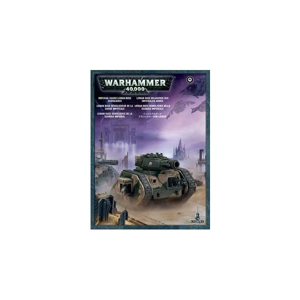 ASTRA MILITARUM LEMAN RUSS DEMOLISHER - GAMES WORKSHOP 47-11