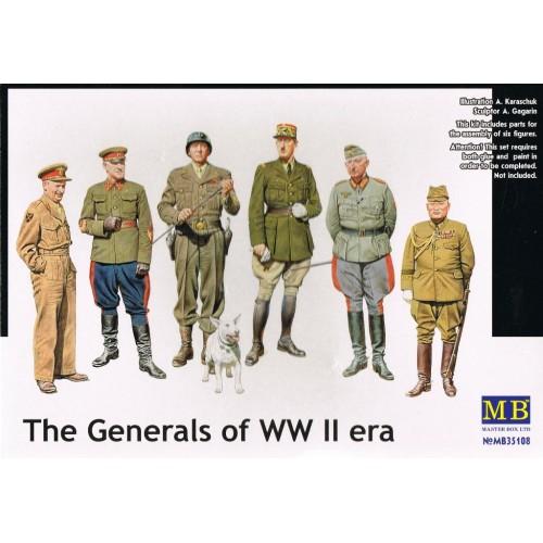 GENERALES FAMOSOS WWII - ESCALA 1/35 MASTERBOX 35108