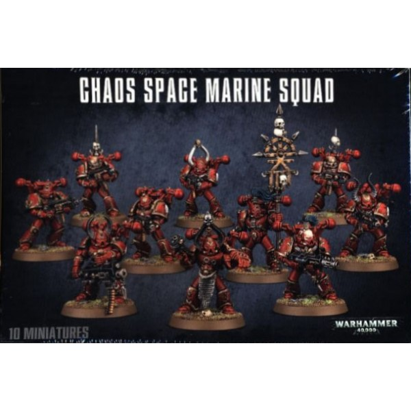 CHAOS SPACE MARINES - Games Workshop 4306