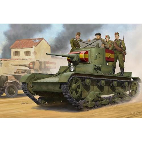 CARRO DE COMBATE T-26 Mod. 1.935 - escala 1/35 HobbyBoss 82496