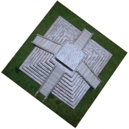 TEMPLO DE KUKULCAN (440 x 440 x 190 mm) 1/175