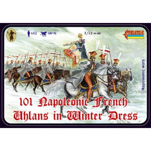 ULANOS FRANCESES (Unif. invierno) - Strelets 101