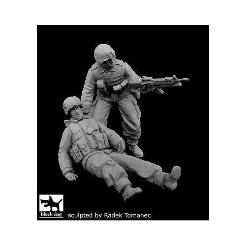 PATRULLA SOLDADOS U.S. ARMY (Op. Freedom en Irak)