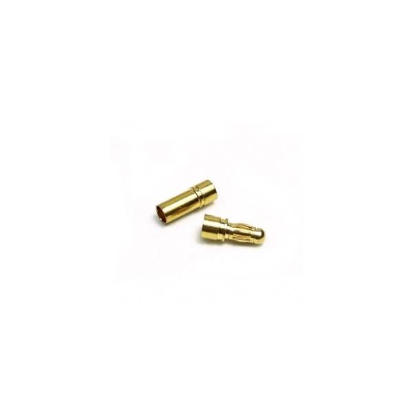 CONECTOR ORO 3,5 mm HEMBRA/MACHO