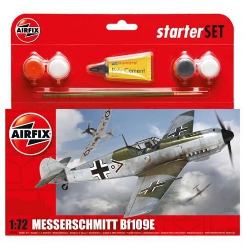 MESSERSCHMITT Bf-109 E3 (Pegamento & Pinturas) - Airfix A55106