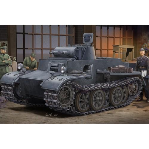 CARRO DE COMBATE VK18.01 PANZER I Ausf. F - ESCALA 1/35- Hobby Boss 83804