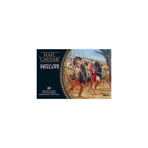 GUERREROS GRIEGOS: FALANGE (40 Figuras) -1/56- Warlord Games WGH-GR-03