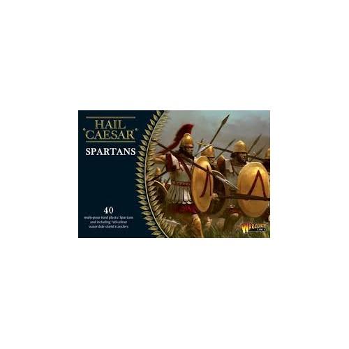 GUERREROS GRIEGOS: SPARTANOS (40 Figuras) -1/56- Warlord Games WGH-GR-01