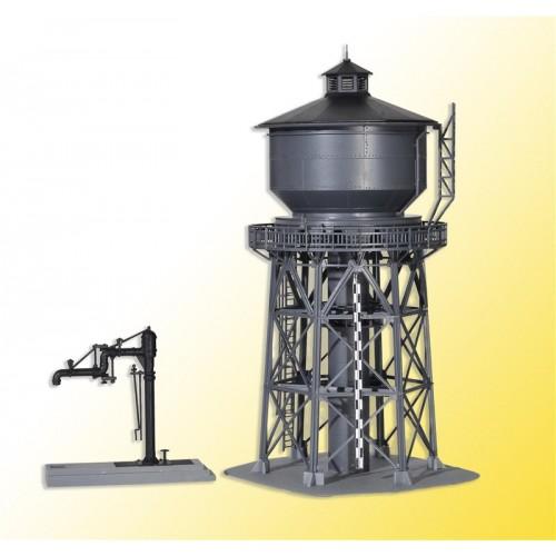 TORRE DE AGUA Y SURTIDOR (110 x 240 mm) -Escala H0 / 1/87- Kibri 39328