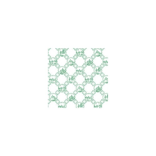 PAPEL PARED AZULEJO BEATRIX VERDE (400 x285 mm)