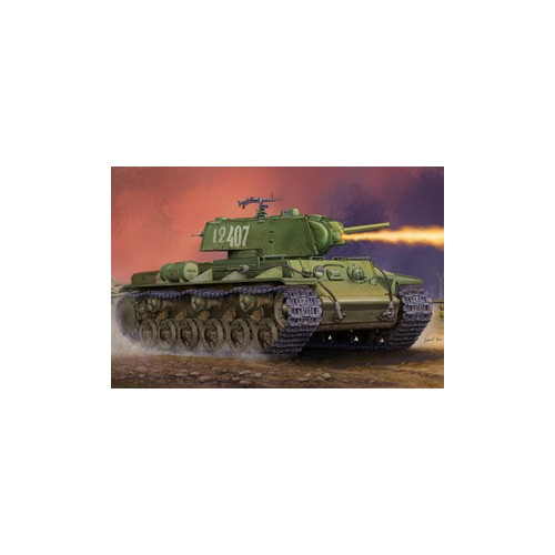 CARRO DE COMBATE KV-8 S (Torre soldada) -1/35- Trumpeter 01568