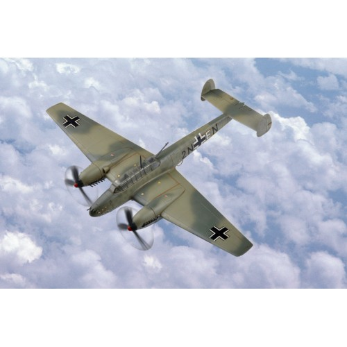 MESSERSCHMITT Bf-110 E1 - ESCALA 1/72 - HOBBYBOSS 80292
