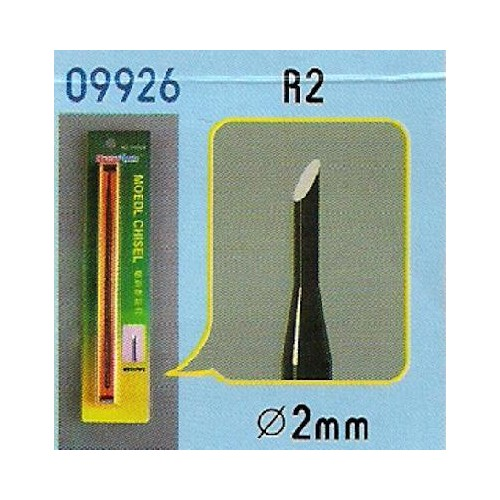 FORMON PARA MODELISMO REDONDO R2 (2 mm) - Trumpeter Master Tools 09926
