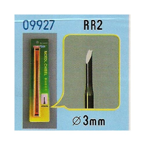 FORMON PARA MODELISMO REDONDO Y CANAL RR2 (3 mm) - Trumpeter Master Tools 09927