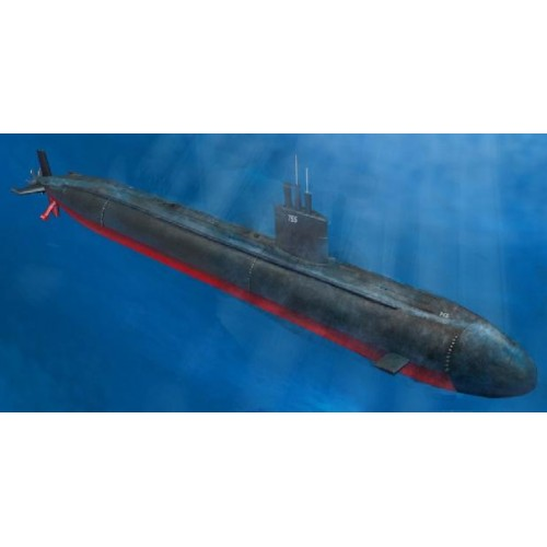 SUBMARINO U.S.S. LOS ANGELES SSN-688 ESCALA 1/350 - HOBBYBOSS 83530