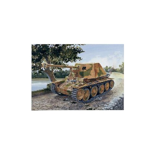 CAZACARROS SD.KFZ. 138 MARDER III Ausf. H - Italeri 7060