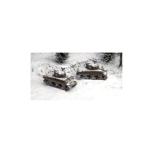 CARRO DE COMBATE M-4 A3 (76 mm) SHERMAN (2 unidades) MONTAJE RAPIDO - Italeri 7521