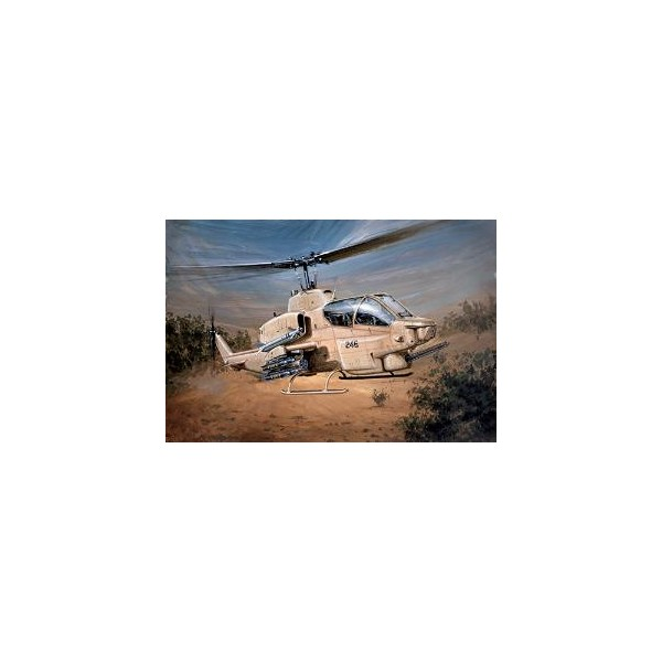 BELL AH-1 W SUPER COBRA -Escala 1/48- Italeri 833