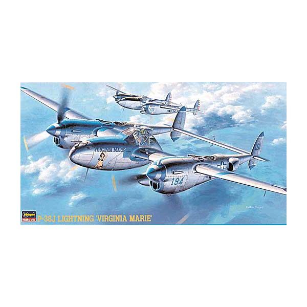 LOCKHEED P-38J LIGHTNING -Escala 1/48- Hasegawa JT1