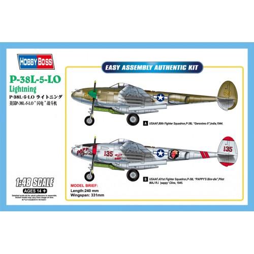 LOCKHEED P-38 L-5 LIGHTINIG -Escala 1/48 - hobbyboss 85805