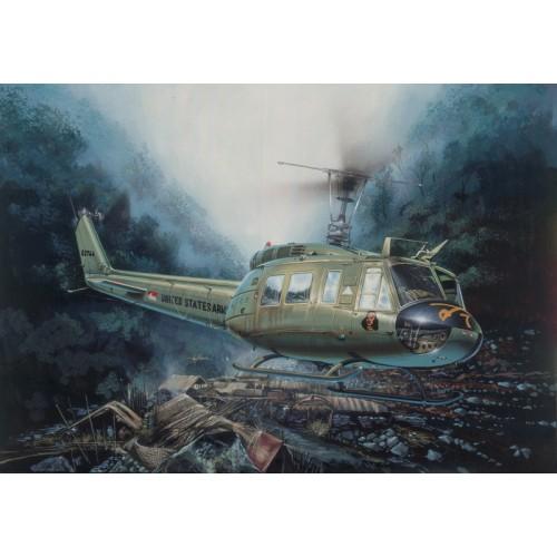 BELL UH-1 D IROQUOIS - Italeri 849 - ESCALA 1/48