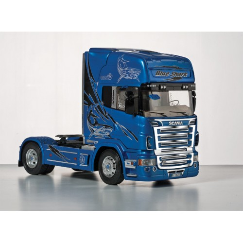 CAMION SCANIA R620 BLUE SHARK ESCALA 1/24