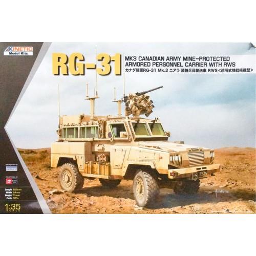 VEHICULO BLINDADO RG-31 (CANADA ARMY) - Kinetic K61010