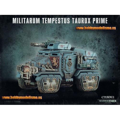 .G.I.MILITARUM TEMPESTUS TAUROX PRIME