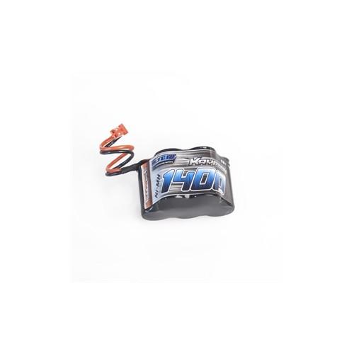 BATERIA RECEPTOR 6V 1400 mAh PIRAMIDE 2/3 AA (Conector BEC) - XT-6 1400PY/B
