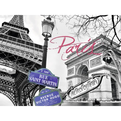 PUZZLE 1500 PZAS PARIS, MI AMOR (800 x 600 mm)