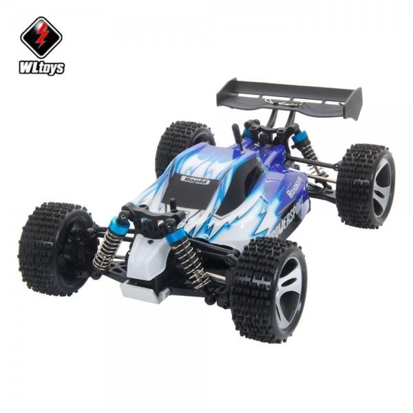 Buggy Electrico Vortex 1/18 Y Bateria Lipo 7,4v Y Cargador Wl Toys A959