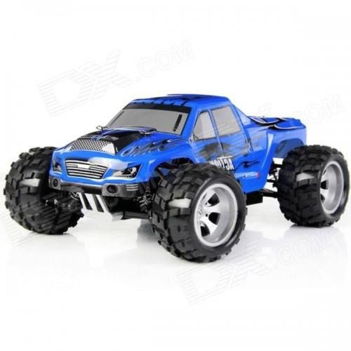 MONSTER TRUCK ELECTRICO 1/18 VORTEX (Carroceria Negra o Azul) - WL Toys A979