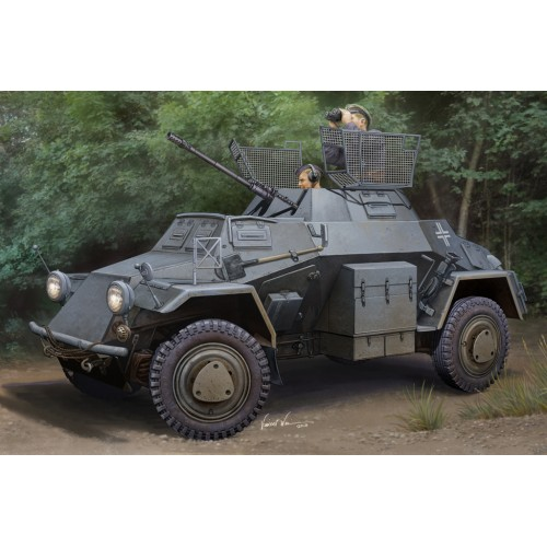 VEHICULO BLINDADO SD.KFZ. 222 Leichter Panzerspahwagen (Serie 1)