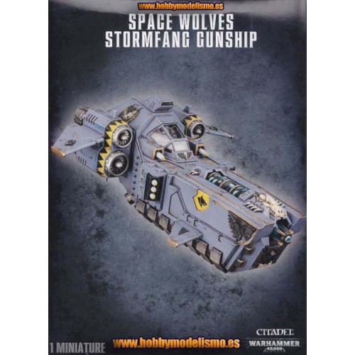 SPACE WOLVES STOEMFANG GUNSHIP