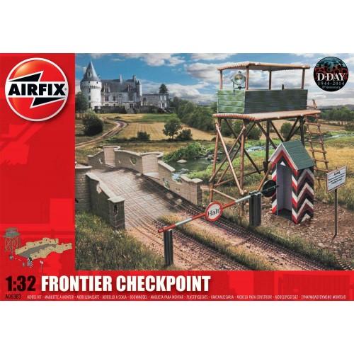 CHECKPOINT Y PUENTE -Escala 1/32- Airfix A06383