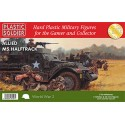 SEMIORUGA M-5 (3 unidades) - Plastic Soldier WW2V20013 - ESCALA 1/72