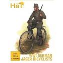 1ª Guerra Mundial: CICLISTAS JAGER ALEMANES