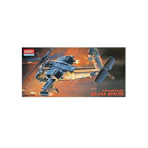 HUGHES AH-64 A APACHE -Escala 1/72- Acamedy 12488
