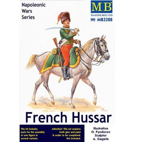 NAPOLEONICOS: HUSSAR FRANCES ESCALA 1/32 - MASTERBOX 3208