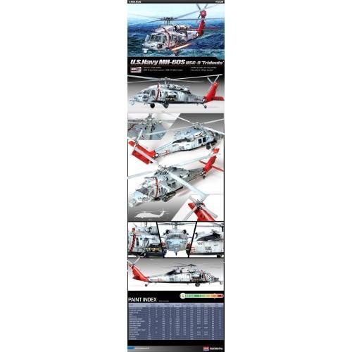 SIKORSKY MH-60S SEAHAWK - escala 1/35 - academy 12120
