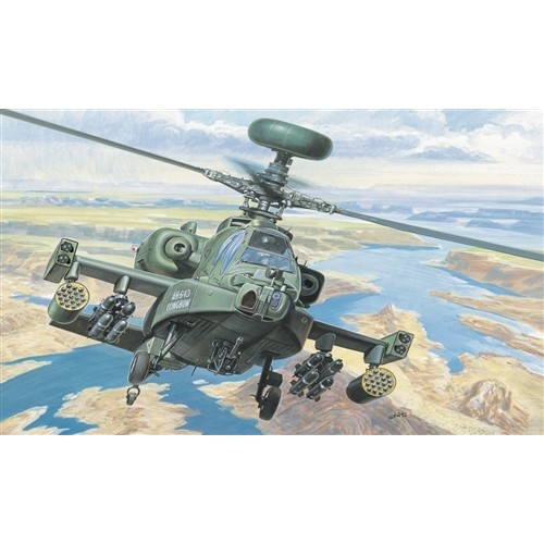 HUGHES AH-64 D LONGBOW APACHE ESCALA 1/72 - ITALERI 080